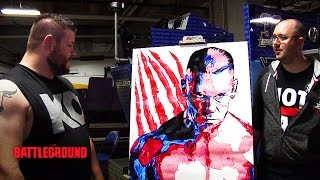 Kevin Owens gets in touch with his artistic side: WWE.com Exclusive, July 19, 2015