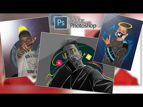 How to make a tumblr photo using  photoshop