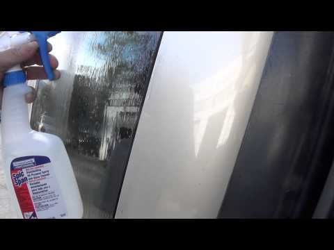 Hard Water Removal From Car Paint