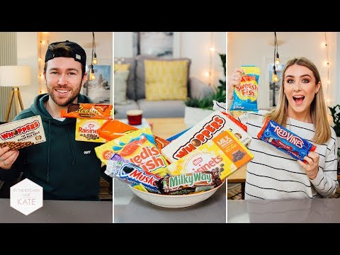 British People Trying American Candy Part 3 - In The Kitchen With Kate