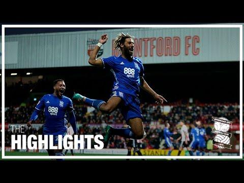 Brentford 1-2 Birmingham City | Championship Highlights 2016/17