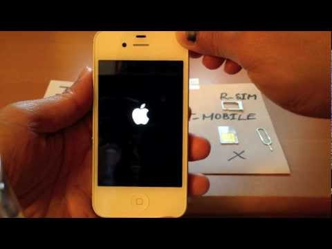Unlock Sprint iPhone 4S iOS 5.0.1 for T-Mobile or Any GSM Worldwide