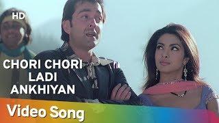 Chori Chori Ladi Ankhiyan   Barsaat (2005)   Bobby Deol   Priyanka Chopra   Sapna Awasthi   Indi