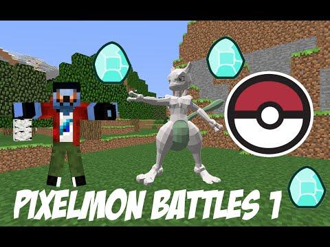 Pixelmon Battles #1