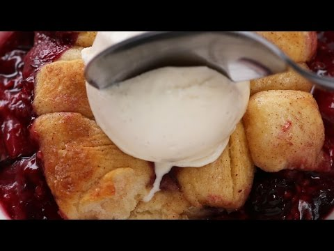 Grilled Berry Cobbler