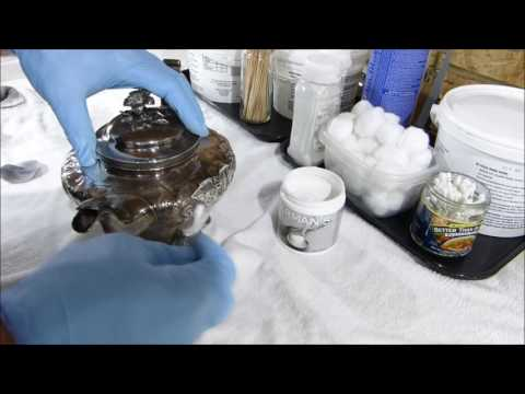 How to polish sterling and silver-plate with Herman's