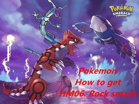 Pokemon. How to get HM06  Rock smash (Emerald, Sapphire, Ruby)