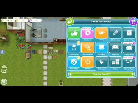 Use a coin flower patch - the sims freeplay