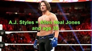 WWE Superstars/divas Real Names and Ages 2016 (Updated)