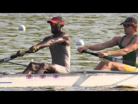 The South African rowing team on the road to success