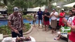 Muhammad Sami birthday celebrations at a Pool Resort Palm Jamera Dubai