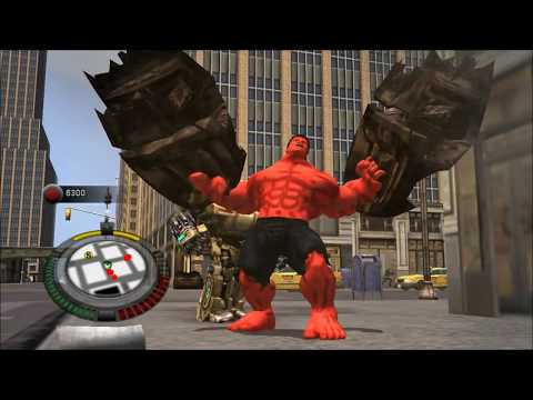 Incredible Hulk-Red Hulk PC Mod