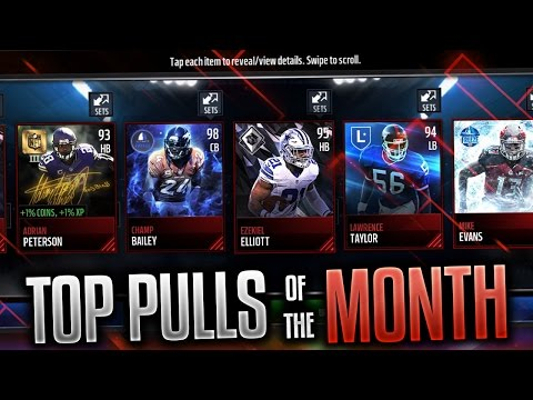 TOP 10 PULLS OF MADDEN MOBILE! EP. 1