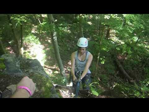 REI Climbing and Repelling (Old Camera Footage)