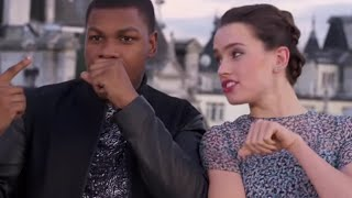 Are Daisy Ridley and John Boyega Amazing Rappers? | What