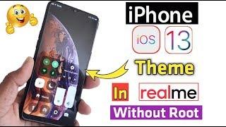 How to Set IOS12 Theme in Realme 2pro/Realme 2/Realme 1