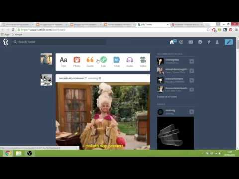 How to create a powerful backlink using Blogger Tumblr and pinterest