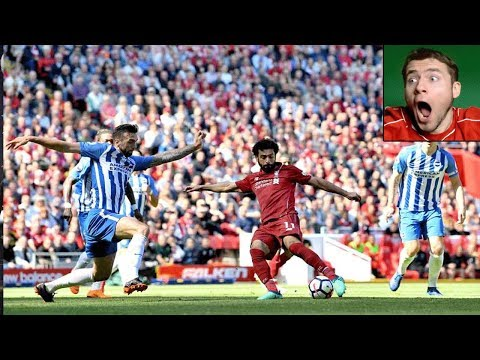 LIVERPOOL 4-0 BRIGHTON LIVE REACTIONS TO GOALS | FANZONE HIGHLIGHTS