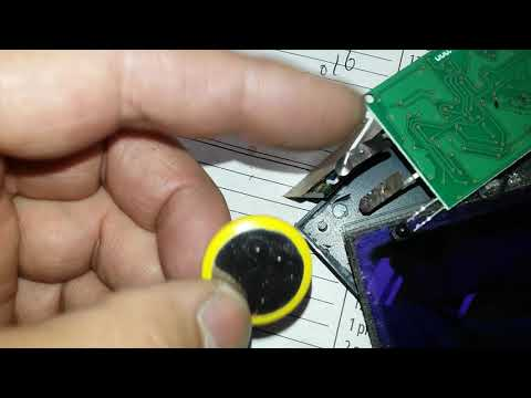 Welding Helmet repair / Replace to new battery for auto darkness ( Habor F. Tool #46092)
