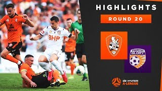 Highlights: Brisbane Roar FC v Perth Glory – Round 20 Hyundai A-League 2019/20 Season