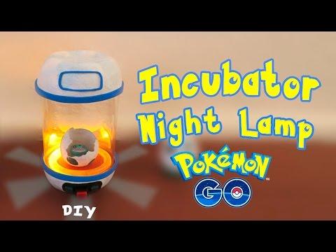 Pokemon GO Night Lamp - Egg Incubator DIY