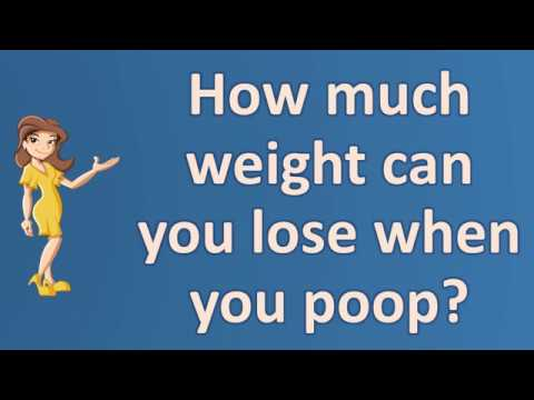 How much weight can you lose when you poop ? | Top and Best Health Channel