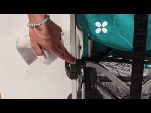 SERVICE IN SECONDS - Cleaning the UPPAbaby G-LUXE Folding Mechanism