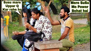 SUSU Prank on Cute Girl's (Part2) - Epic Funny Reactions  Prank In Kolkata  By TCI
