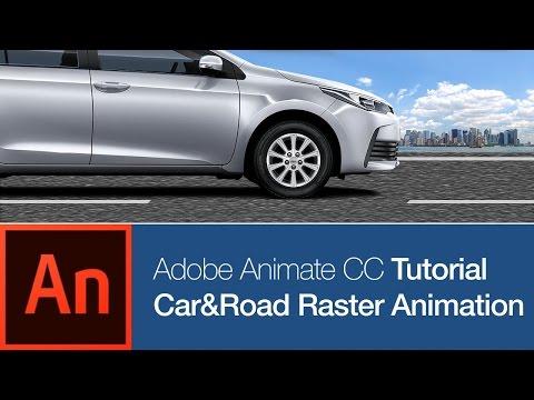 Animate CC: Car&Road Seamless Raster Animation (FREE DOWNLOAD)