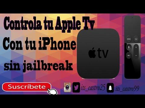 Como Controlar Mi Apple Tv Con mi iPhone, Sin Jailbreak