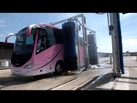 Automatic Bus Wash Machine