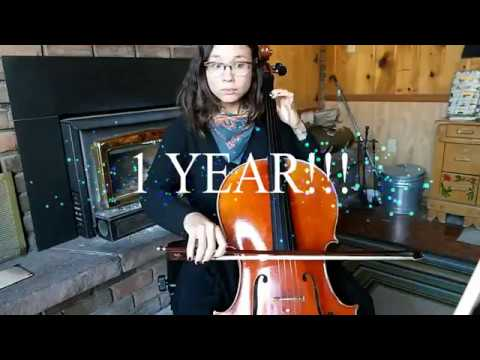 Progress Video: One Whole Year Learning the Cello!