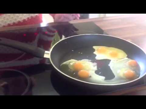 What are they feeding caged hens? 5 eggs 5 double yolks.