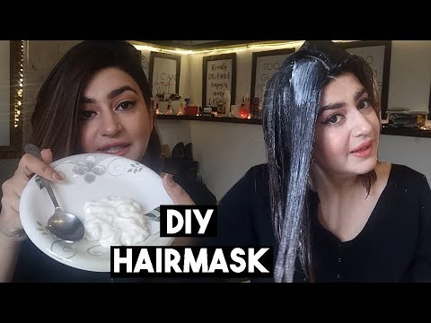 Super Glossy & Silky Hair OverNight | DIY Natural Hair Mask & Deep Conditioner | GLOSSIPS