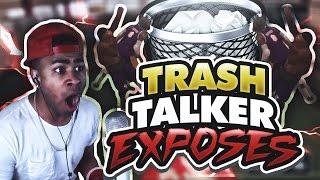 TRASH TALKER EXPOSES PRETTYBOYFREDO!! 1 v 1 MYCOURT!! THE REMATCH!! NBA 2K17