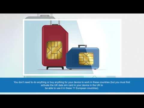 UK Data Sim Card | UK Prepaid Sim Card