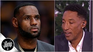 LeBron James needs to be in Lakers free agent meetings for them to work - Scottie Pippen | The Jump