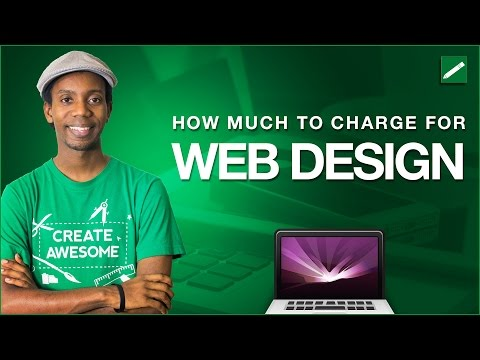 Web Design: How Much to Charge for Website Design
