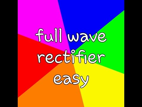 ✔👍😊How to make Full wave rectifier+12 || science project || physics model project