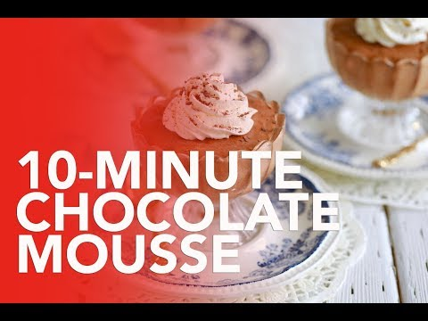 10-Minute Chocolate Mousse w/Gemma Stafford