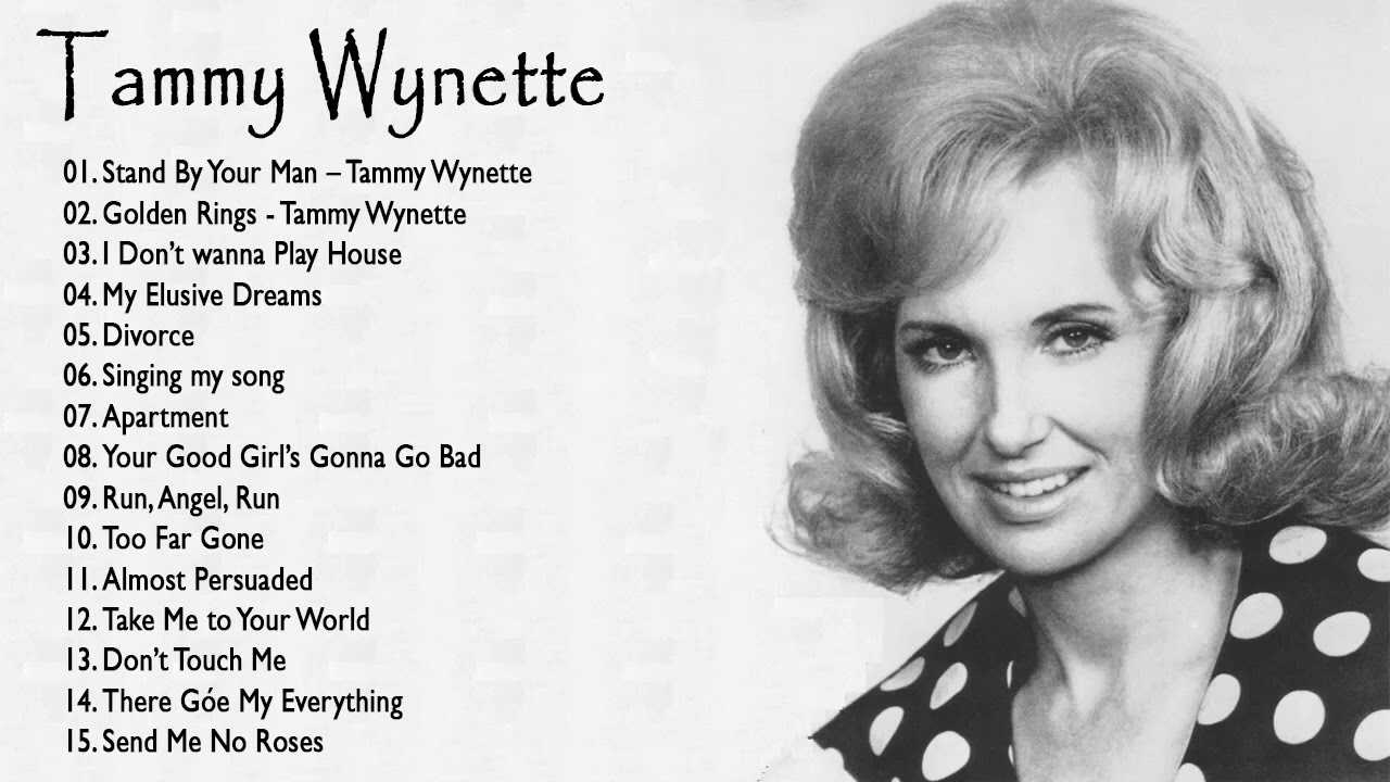 Tammy Wynette Greatest Hits  [Full Album] | Best Country Song Of Tammy Wynette