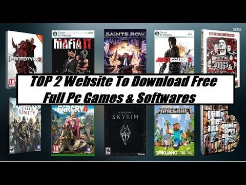 TOP 2 Website To Download Free Full Pc Games & Softwares