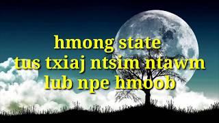hmong state tus txiaj ntsim ntawm lub npe hmoob 2