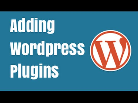 Wordpress Plugins - Quick Tutorial