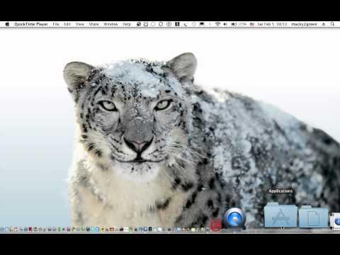 Free Screencasting on Mac OS X