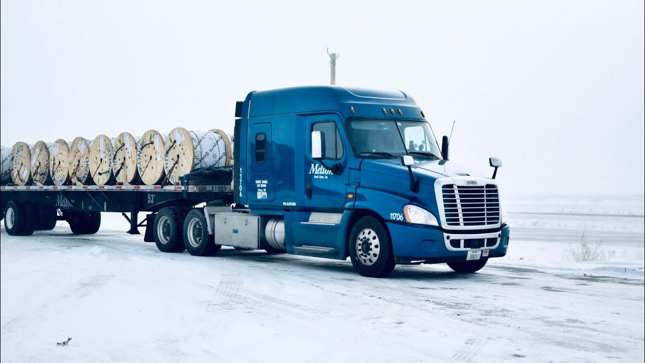 """Flatbed Gang The Movement """"White World"""" Melton Truck Lines"""