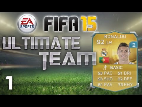 Fifa 15 Ultimate Team - Ronaldo Gameplay! Premium Gold Pack Opening! FUT 15 Ep.1