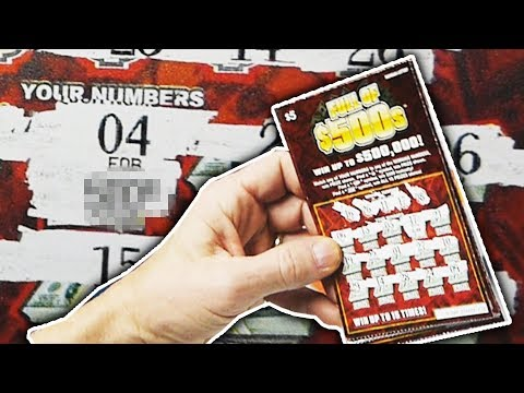 How to check a scratch off lottery ticket -