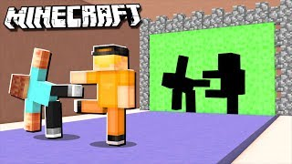 MINECRAFT HOLE IN THE WALL SIMULATOR!