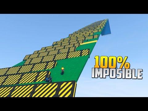 100% IMPOSIBLE!!! HAY QUE SUBIR ESO?!?! - CARRERA GTA V ONLINE - GTA 5 ONLINE